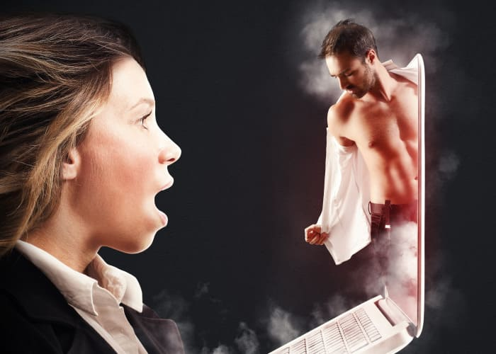 Online Flirting on Health